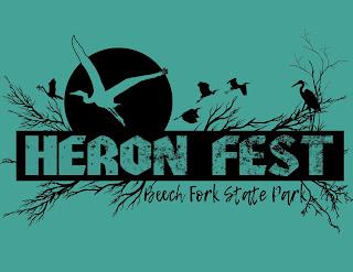 Heron Fest Tshirt Design