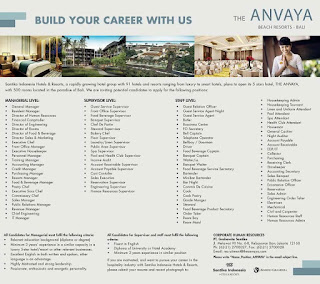 Lowongan the Anvaya
