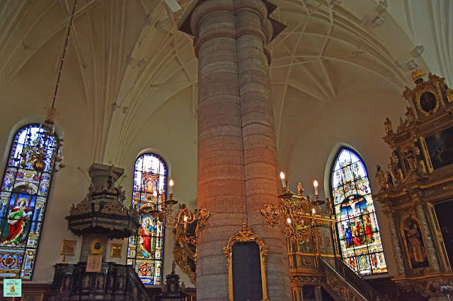 Iglesia luterana Estocolmo (Tyska Kyrkan)