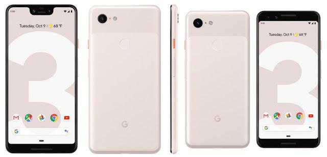 Spesifikasi dan harga pixel 3 dan pixel 3 xl
