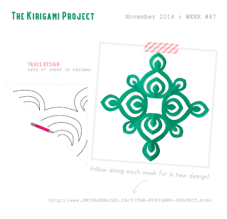 Omiyage Blogs: The Kirigami Project