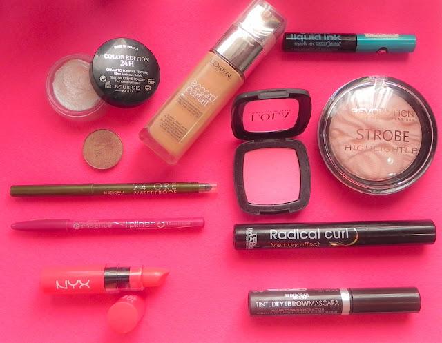 bodegón maquillaje rosa fácil