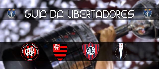Guia da Libertadores 2017 – Grupo 4