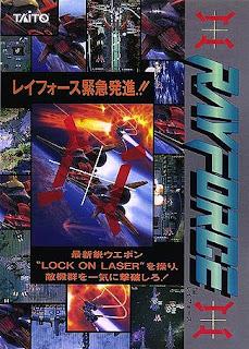 RayForce arcade game portable 3d flyer