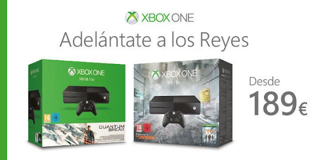 La Xbox One adelanta la navidad, se puede adquirir a 189 euros