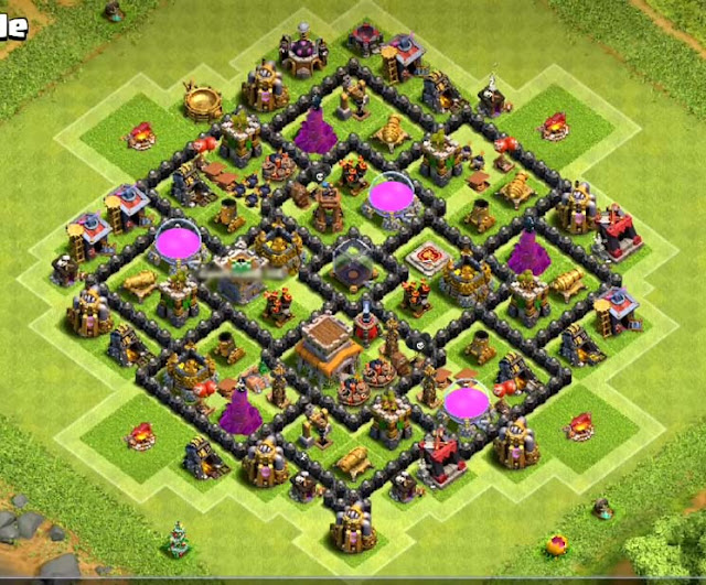 great th8 farming base design anti everything