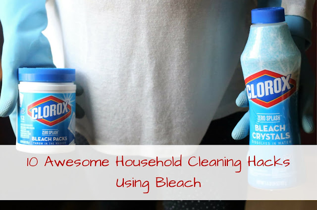 10 Awesome Household Cleaning Hacks Using Bleach