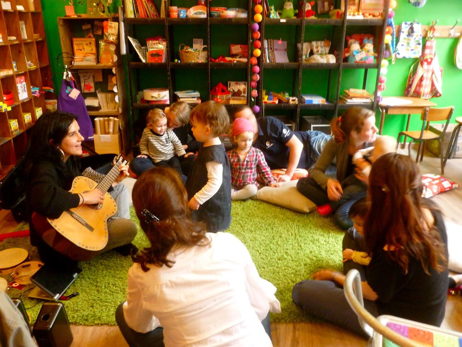 atelier eveil musical