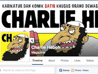 Astaga! Ngerinya Pelesetan Charlie Hebdo di Jakarta Ini