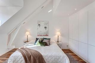 kamar tidur kecil kreatif