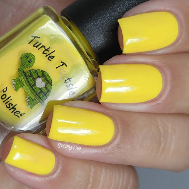 Turtle Tootsie Polishes - Yellow Ranger