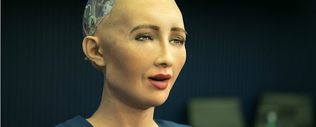 Saudi Arabia's Newest Citizen Is a Robot And She Just Had a Go at Elon Musk