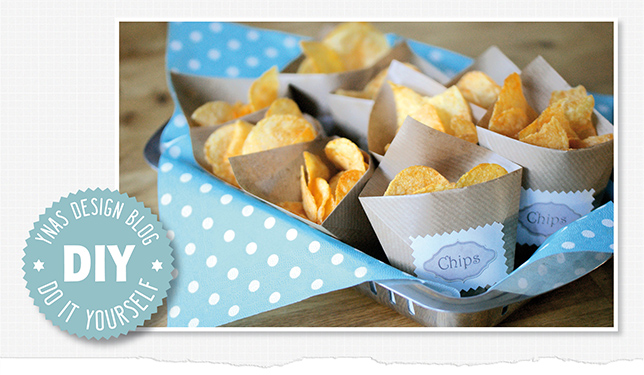Ynas Design Blog, DIY Chips Tütchen, Package