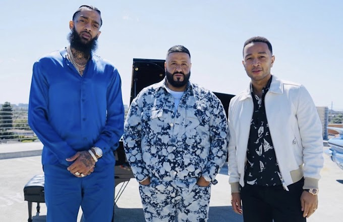 Video: DJ Khaled - Higher (Con Nipsey Hussle y John Legend)