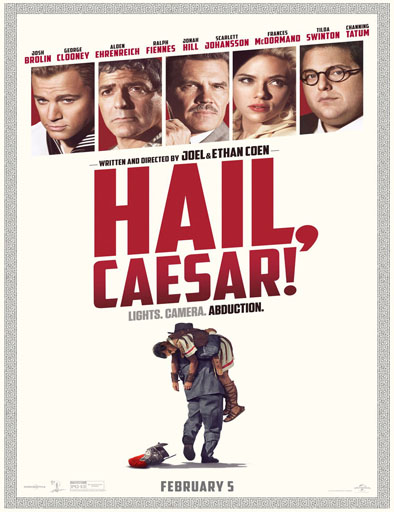 Ver Salve César (Hail, Caesar!) (2016) Online