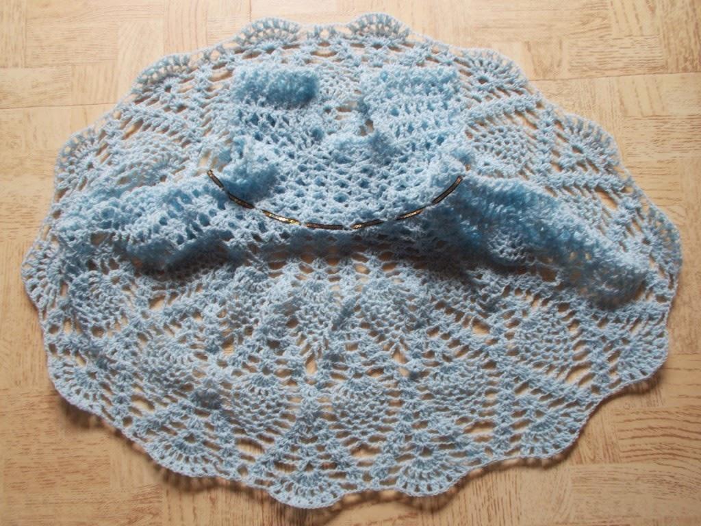 free crochet girls dress pattern, free crochet pineapple pattern dress
