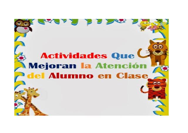 alumnos,atencion,retencion,primaria,preescolar