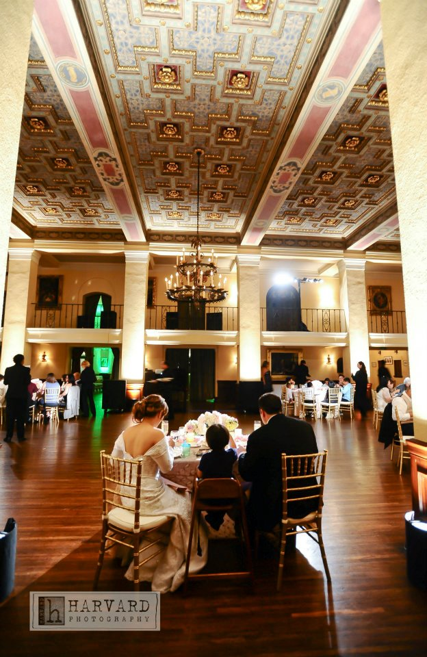 Daily Shot Of Jack A 12 Table Wedding Ebell Wilshire Theater LA
