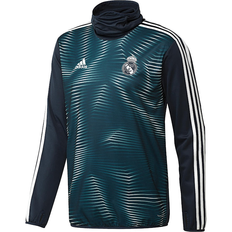 new styles 92033 6077a Adidas x Parley Real Madrid 2019 Pre-Match Jersey Released ...