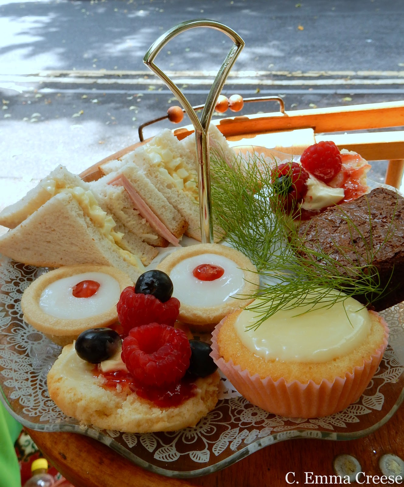 Lord Hurst Afternoon Tea Floristry Road Trip Doncaster Yorkshire