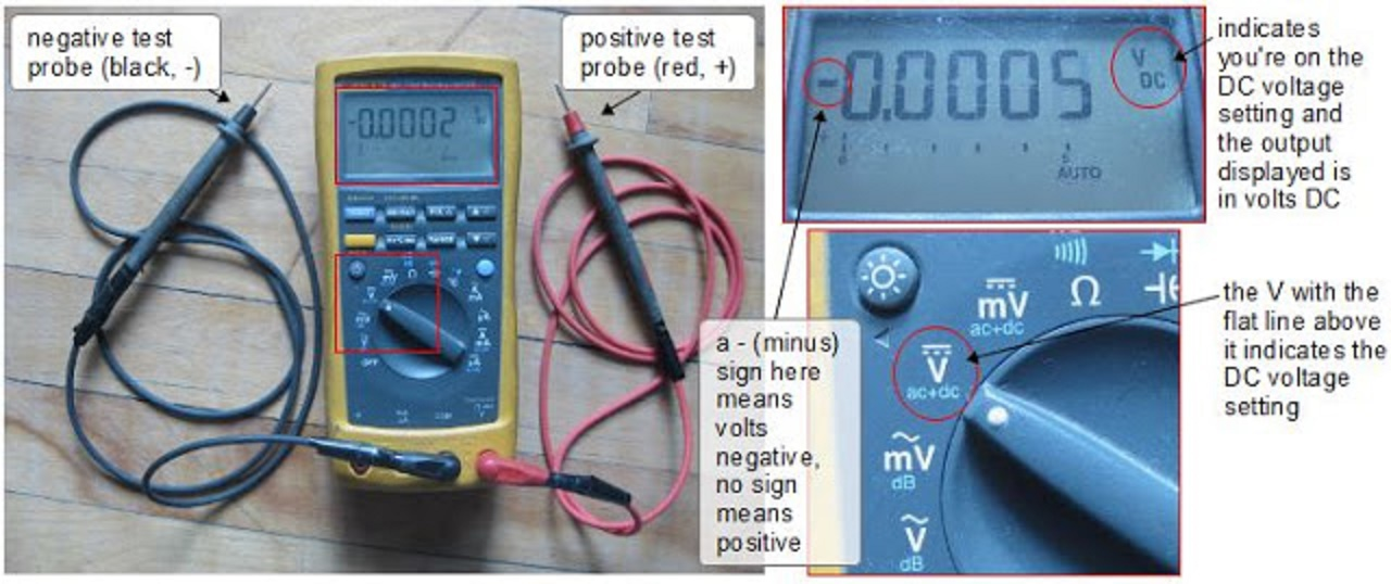Electrical and Electronics Engineering: measuring DC voltage with ...