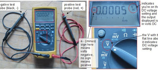 measuring DC voltage with digital multimeter!!