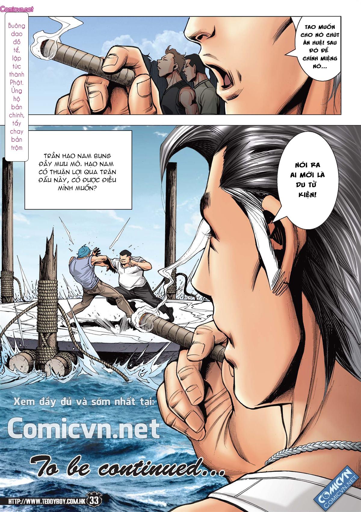 Người Trong Giang Hồ chapter 2146: có số không nói sớm trang 30