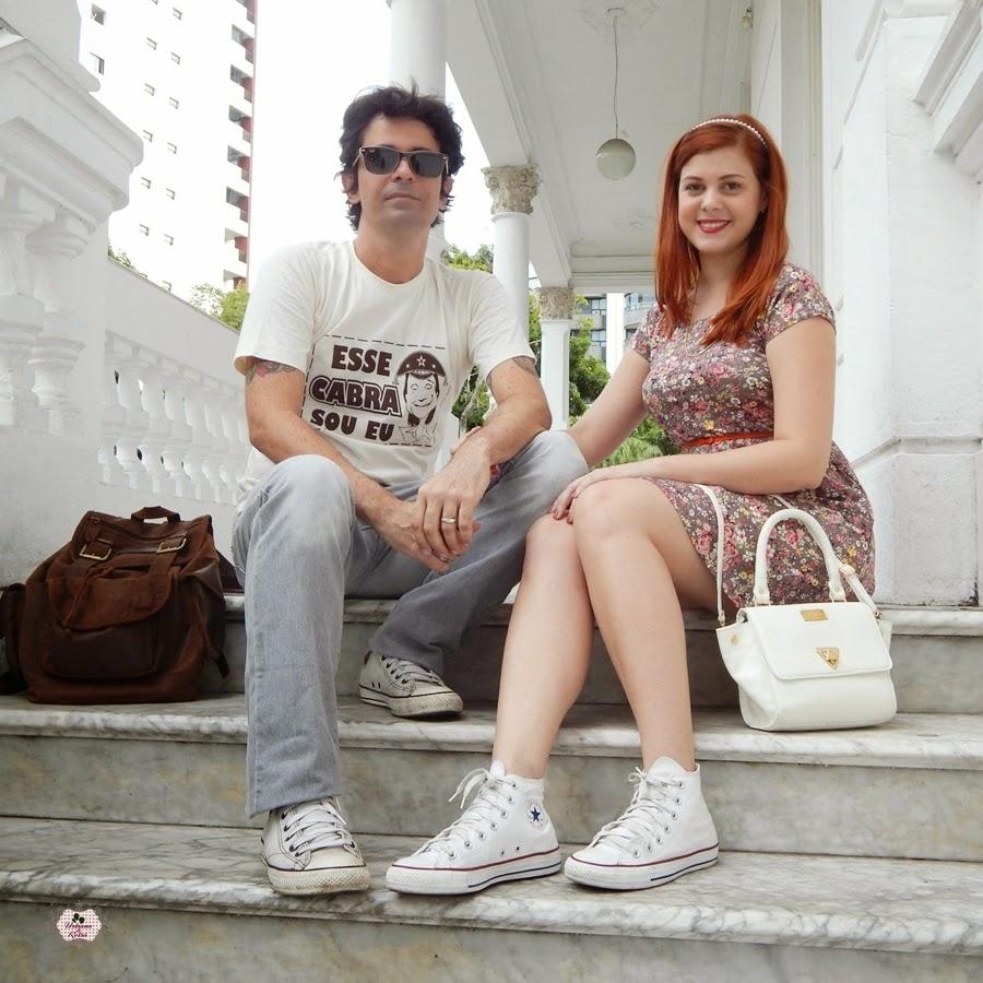 look de casal vintage