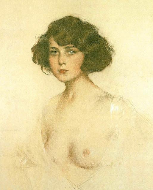 Ramon Casas - Jùlia - topless