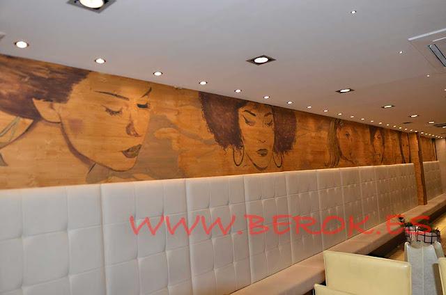 decoración mural Vostra Vite Llagosta