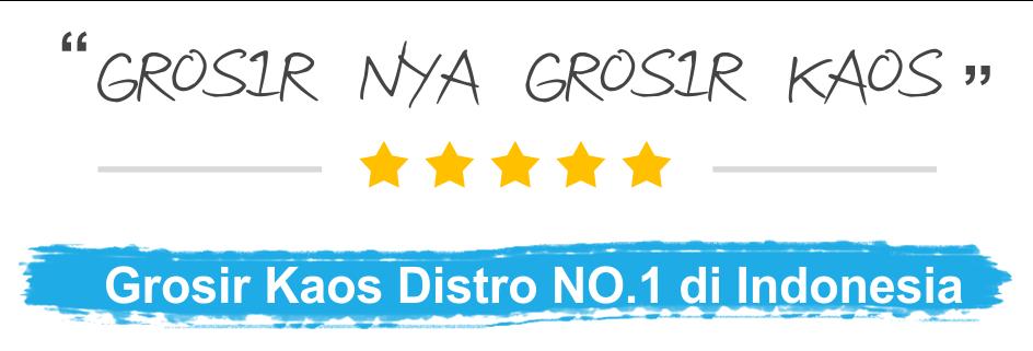 Grosir Kaos Distro Rekomended