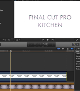 how to make a video transparent in final cut pro