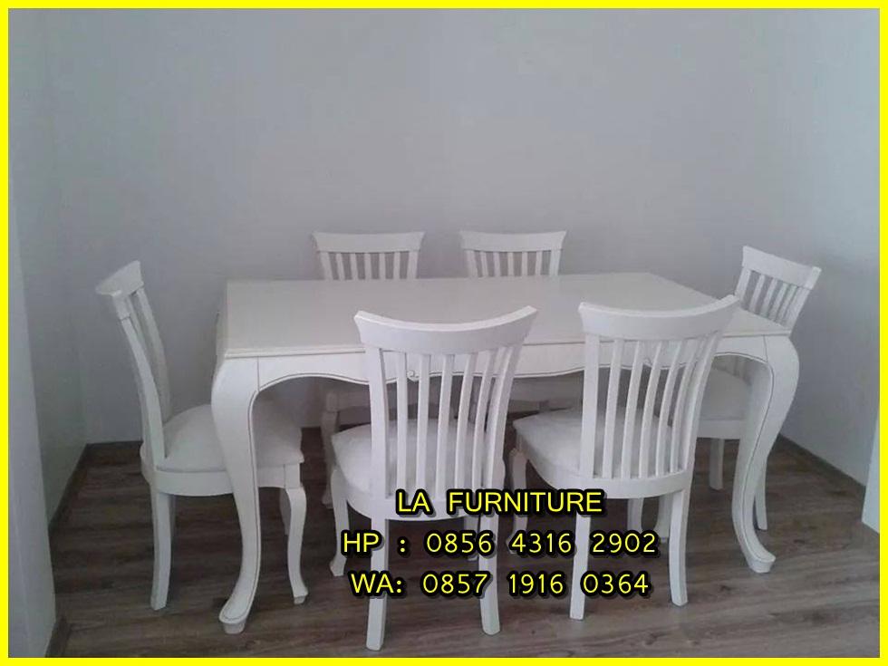 Meja Makan Kayu Jati Jogja La Furniture