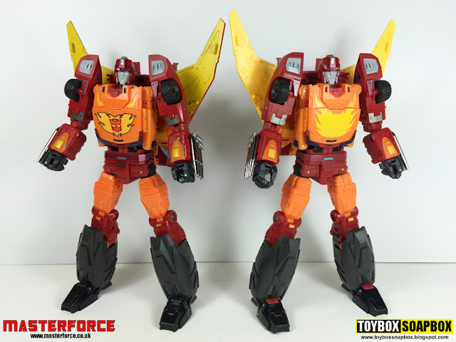 dx9 rodimus carry test shot