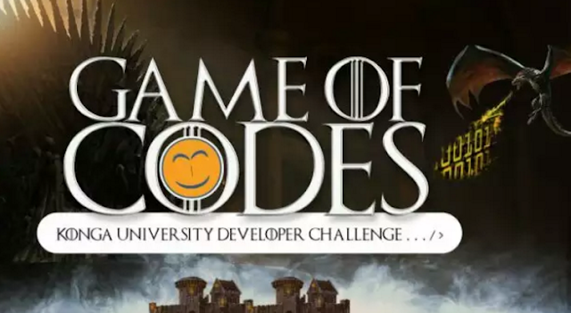 Konga Launches Game Of Codes Developer Challenge For Nigeria University Students #500,000 Up For Grab