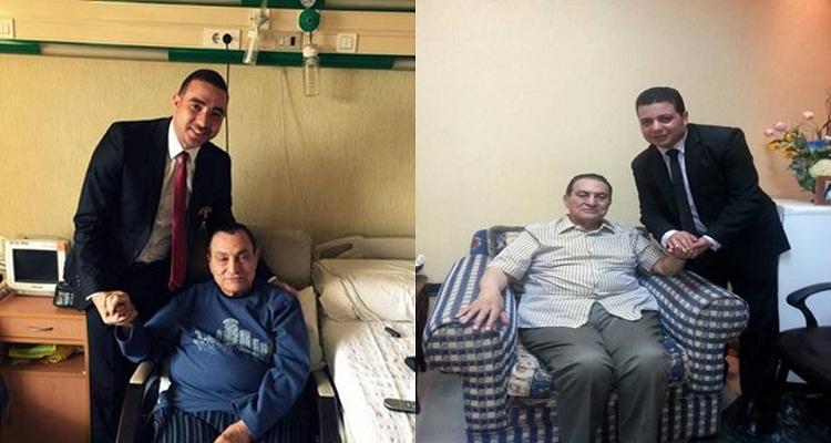 مقربون يكشفون السبب الحقيقي للزيادة المفرطة فى وزن حسنى مبارك