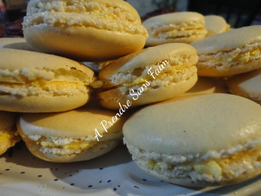 Macarons à la vanille façon Alain Ducasse