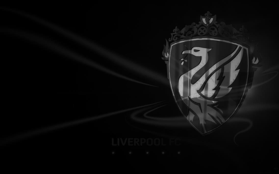 liverpool black wallpaper