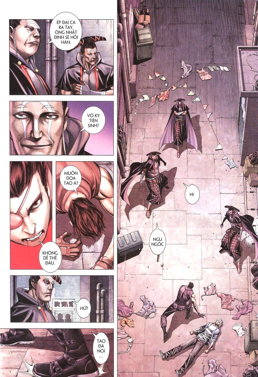 Đại Quân Phiệt chap 9 trang 22