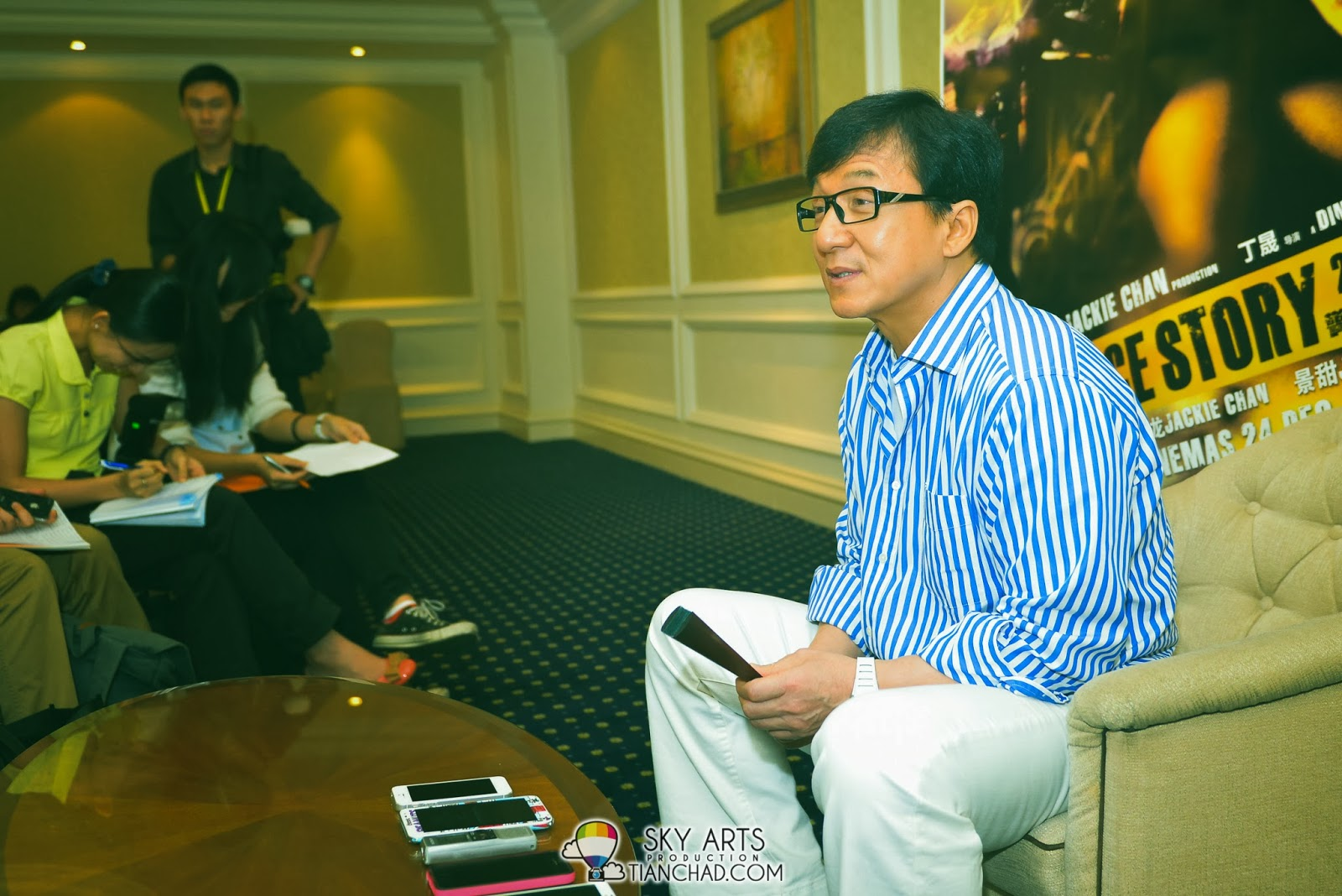 Jackie Chan in Malaysia for Police Story 2013 成龙警察故事