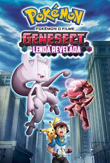 Pokémon O Filme: Genesect e a Lenda Revelada - BDRip Dual Áudio