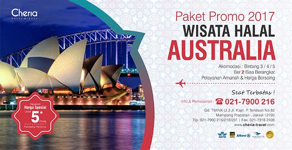 Paket Tour Australia Yang Muslim Friendly