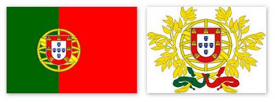 Флаг и герб Португалии