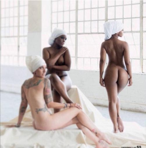 Boity Goes Completely Naked In South Africa