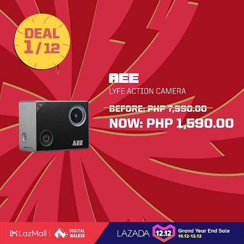 AEE Lyfe Action camera at Php1,590