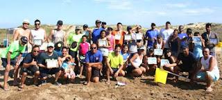 Atletas de Registro-SP e Ilha nas primeiras colocações no Torneio de Beach Tênnis do Ilha Verão 2019