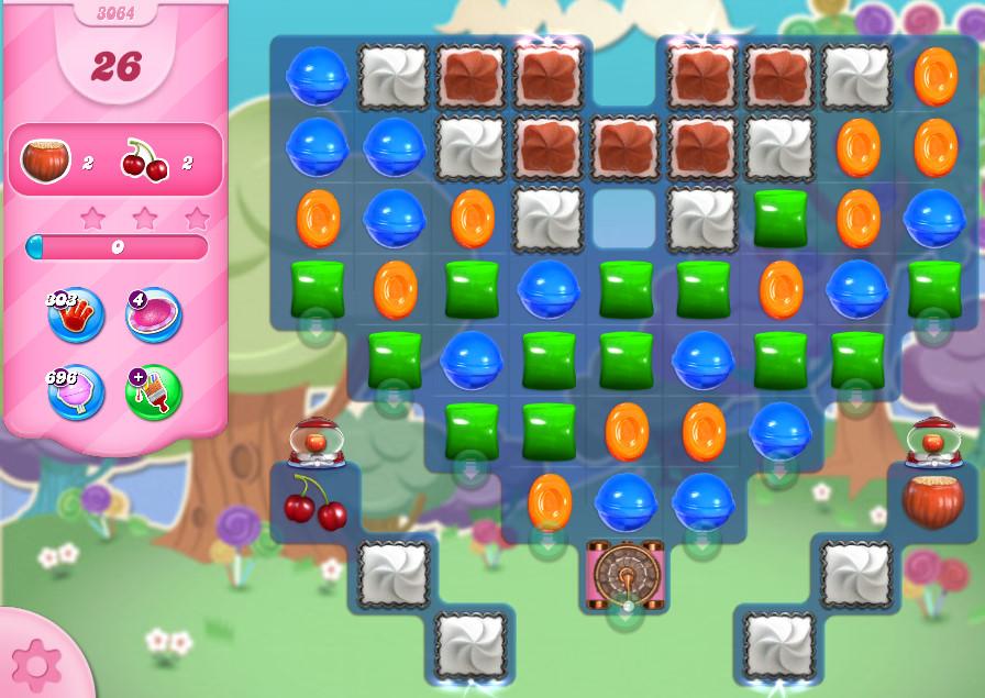 Candy Crush Saga level 3064