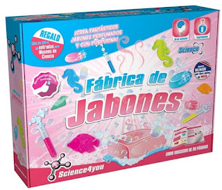 Regalos de Reyes online juego jabones Science4You Amazon