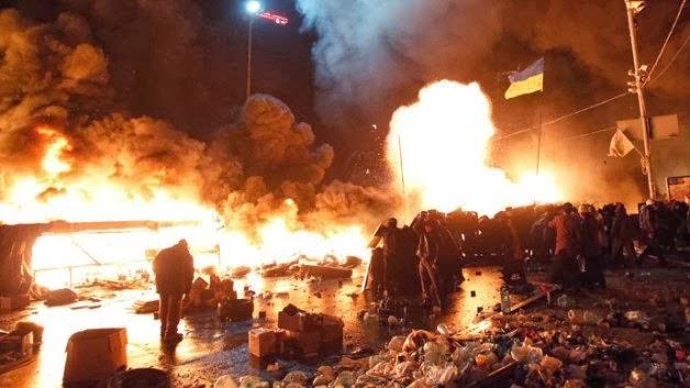 Το Κίεβο στις φλόγες! 15 νεκροί - ανεξέλεγκτη βία παντού!
