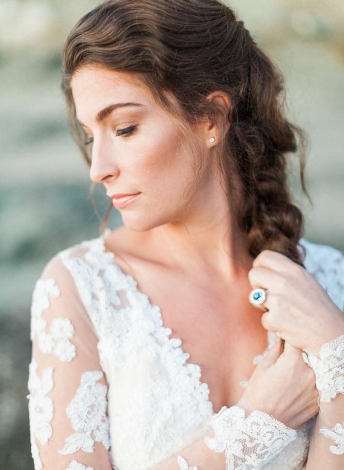 Seaside Bridal Inspiration Shoot Southern California